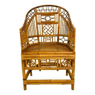 Vintage Brighton Rattan Chair For Sale