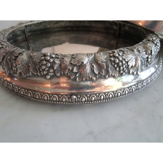 Silver Plated Fruit Bowl - Image 5 of 6
