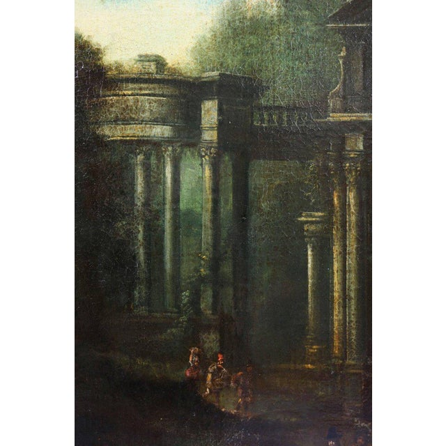 Traditional Flemish Oil on Canvas Capriccio by John Miel For Sale - Image 3 of 11