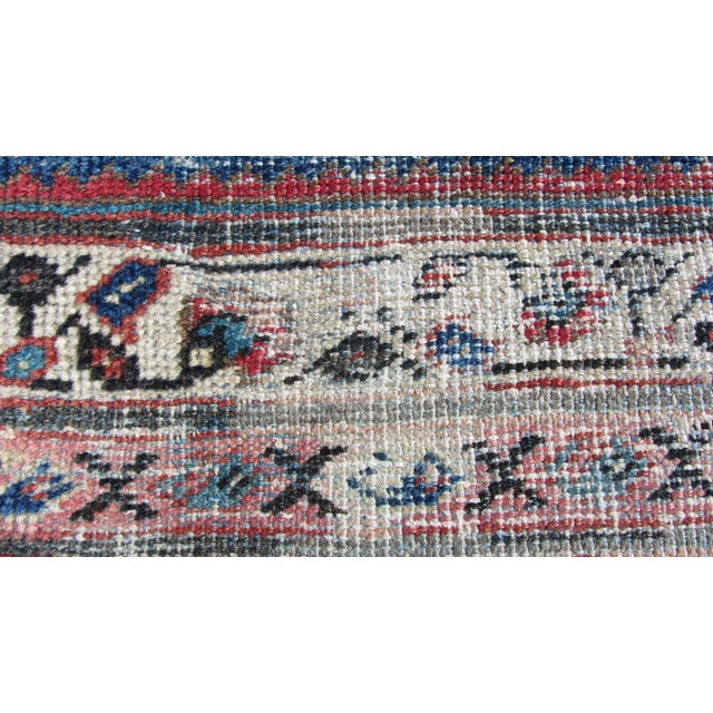 "Red and Blue Peshawar Area Rug - 13'1"" X 10' - Image 5 of 8"