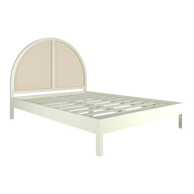 Eva Bed - Queen - Simply White For Sale