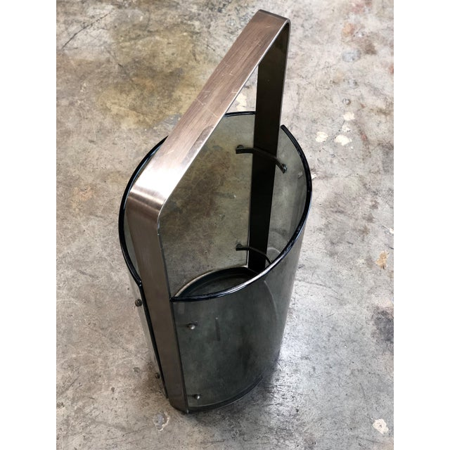 1960s Umbrella Stand by Max Ingrand for Fontana Arte, Italy, 1960s For Sale - Image 5 of 10