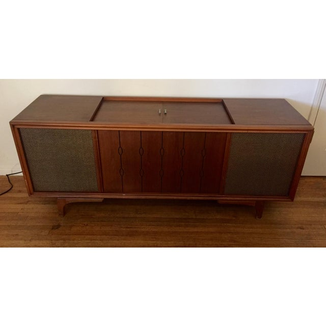 RCA Mid Century Rca Victor Stereo Hi-Fi Cabinet Unit For Sale - Image 4 of 6