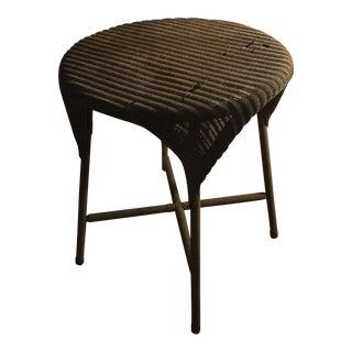Lloyd Loom Wicker Side Table