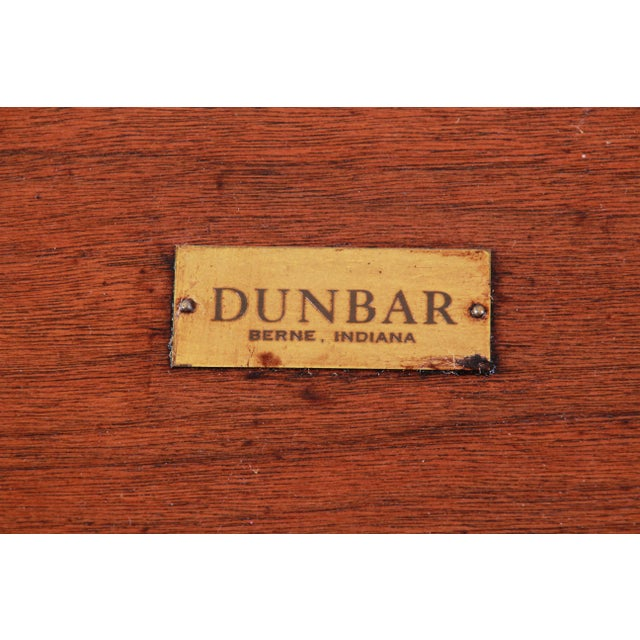 Edward Wormley for Dunbar Janus Collection Game Table For Sale - Image 9 of 12