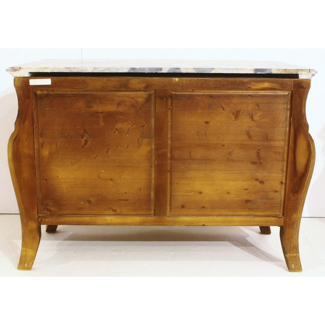 French Style Bombe Commodes- A Pair - Image 9 of 9