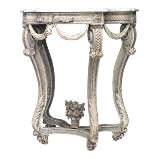 18th Century French Regency Console Table For Sale