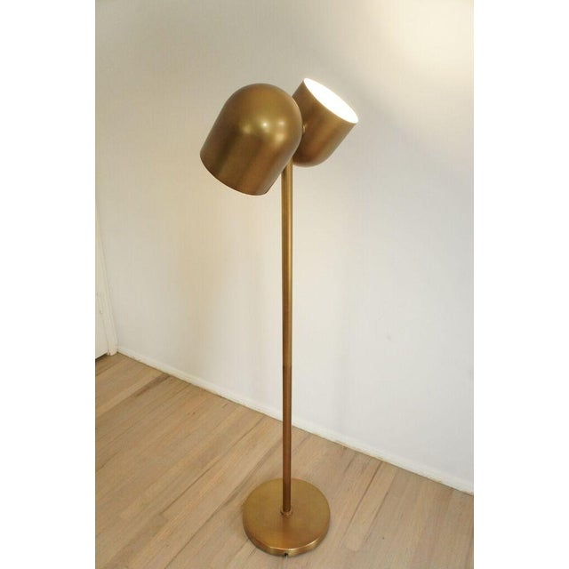 Brass Floor Lamp - Image 3 of 8