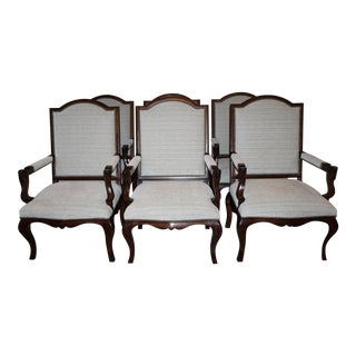 Ralph Lauren St. Germain Dining Armchairs - Set of 6 For Sale