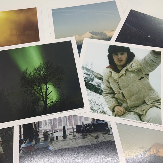 Tan Phil Elverum Dawn Winter Journal Book and CD For Sale - Image 8 of 10