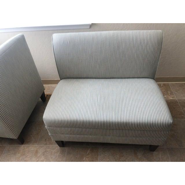 Custom 3-Piece Ballard Designs Bench For Sale In San Francisco - Image 6 of 8