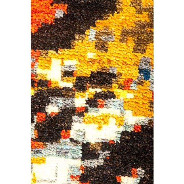 "Eclectic Hand Knotted Area Rug - 8' 1"" X 10' 3"" - Image 3 of 4"