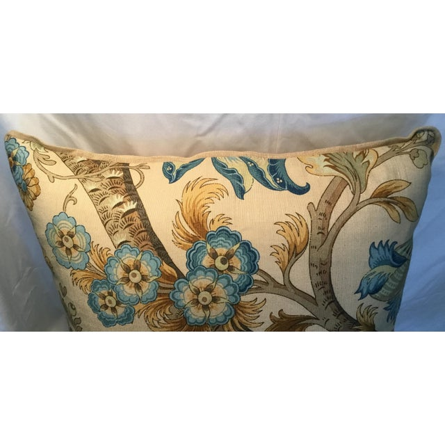2000s Ralph Lauren Pillow - Tree of Life Design - Pair Available For Sale - Image 5 of 13