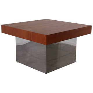 Large Cube Cocktail Table