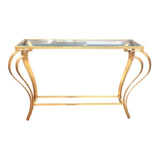Contemporary Style Simone Console For Sale
