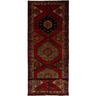 "Meshkin Vintage Persian Rug, 3'9"" x 13'5"" feet"