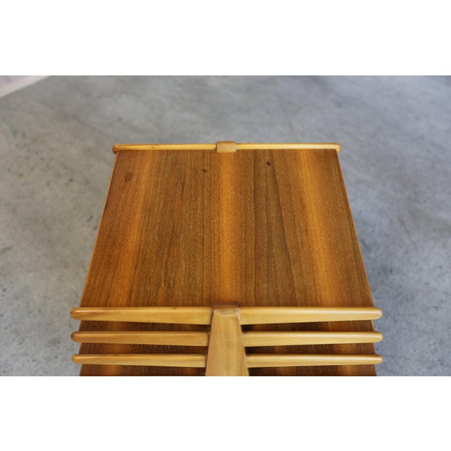 Brown Mid-Century Modern Edward Wormley for Dunbar Magazine Tree For Sale - Image 8 of 10