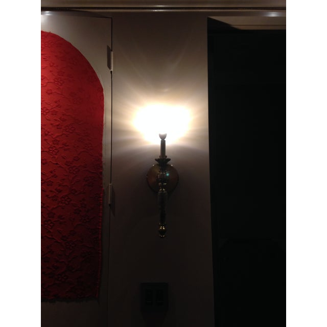 Solid Metal Wall Sconces - Set of 4 - Image 3 of 4