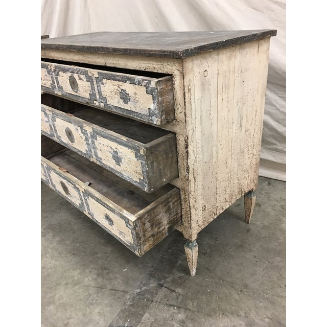 Pair of Italian Painted Chests / Commodes - 18th C For Sale In Austin - Image 6 of 13
