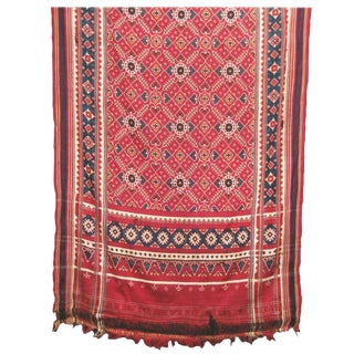 Sari Double Ikat from India