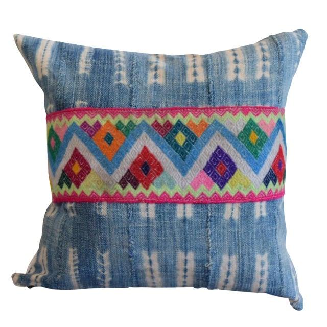 African Indigo Cinta Pillow - Image 1 of 4