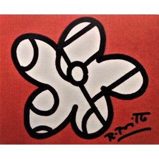 Romero Brito, Original Drawing on Paper Board For Sale