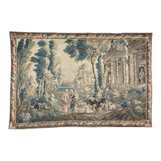 Grand 17th Century Oudenaarde Tapestry For Sale