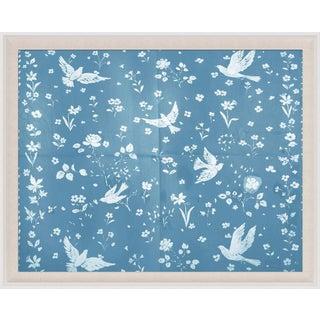 Paule Marrot, Birds & Flowers, Framed Artwork For Sale