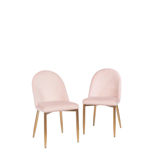 Multiples available. This chair is upholstered in such a unique way creating a modern design on the upholstery. The modern...