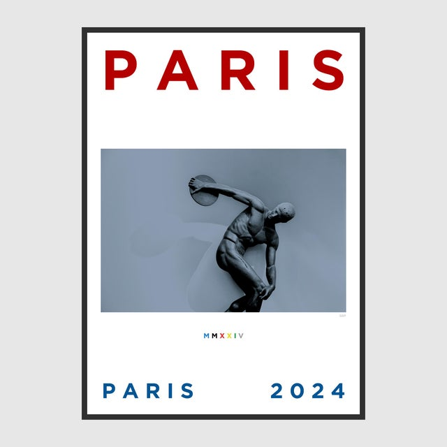 Paris 2024 Poster For Sale - Image 4 of 5