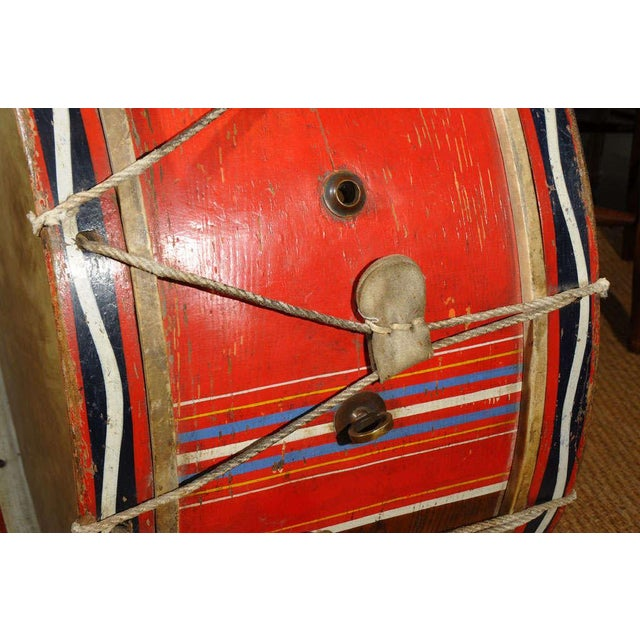 French Antique French Military Tambour or Drum For Sale - Image 3 of 7