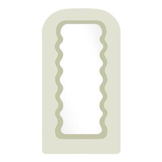 Fleur Home x Chairish Fleur Tall Mirror in Cooking Apple Green, 43x84 For Sale