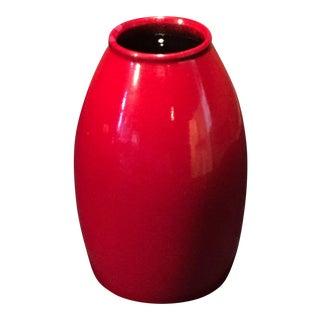 1970s Vintage Scheurich Pottery Vase For Sale