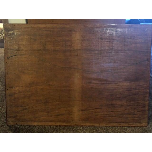 Vintage Hand-Carved Teak Panel For Sale - Image 4 of 9
