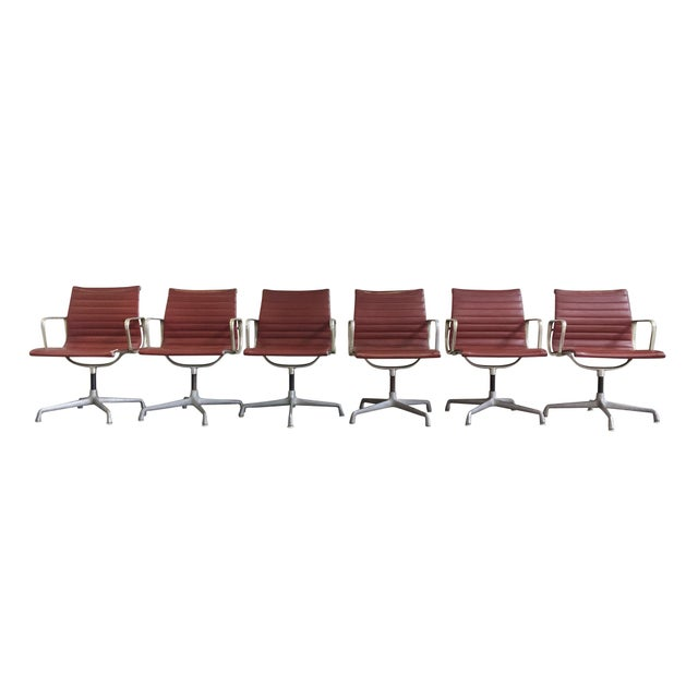 Eames Swivel Chairs for Herman Miller - a Set of 6 For Sale - Image 12 of 12