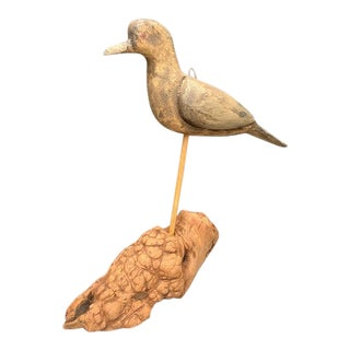Hand Carved Bird For Sale