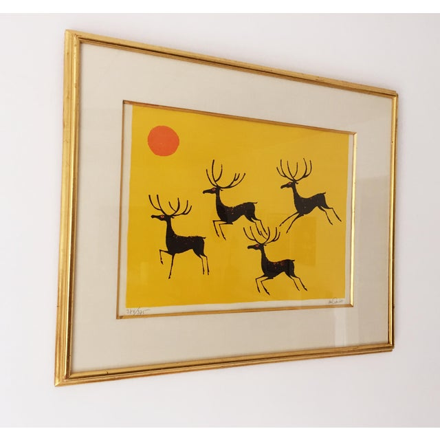 Vintage Keith DeCarlo Signed & Framed Lithograph - Image 3 of 6