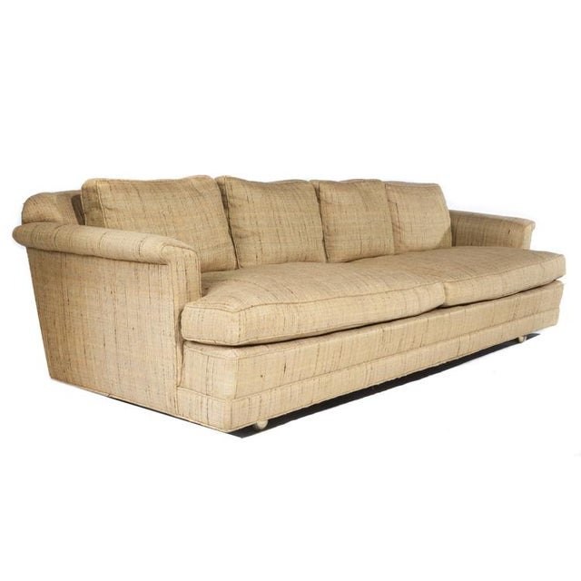 FOUR-SEAT SOFA BY EDWARD WORMLEY FOR DUNBAR For Sale In New York - Image 6 of 9