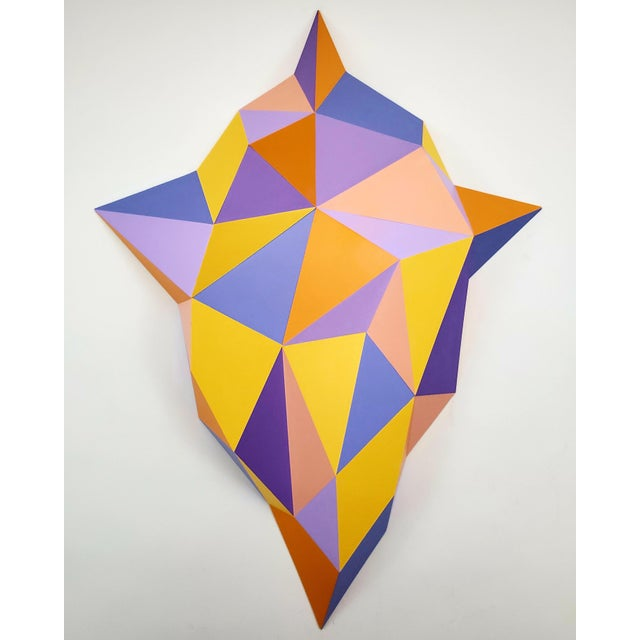 2010s Abstract Sassoon Kosian Vision From Beyond Wall Sculpture For Sale - Image 5 of 7