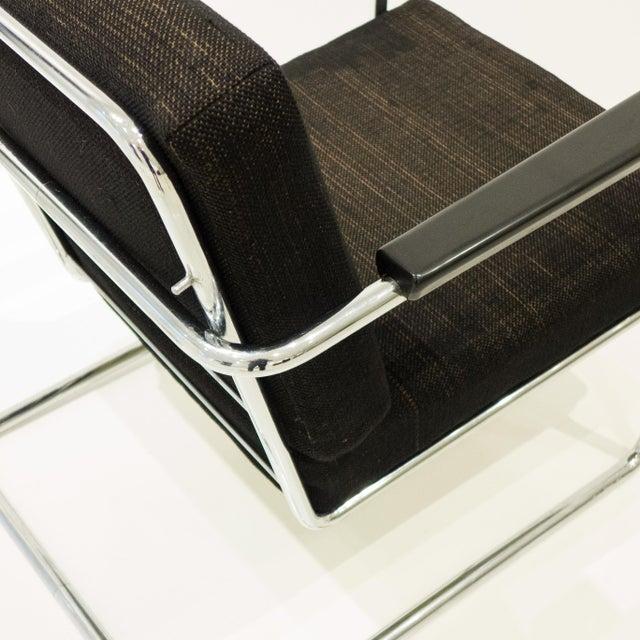 Werner Max Moser Tubular Steel Armchair for Embru Werke - Image 9 of 11