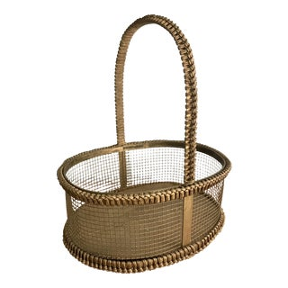 Wire Mesh Basket Country Style