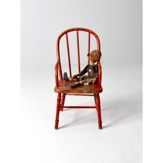 Antique Children's Arm Chair Preview
