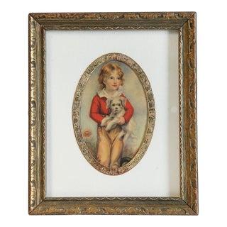 A. W. Devis Vintage Miniature Print