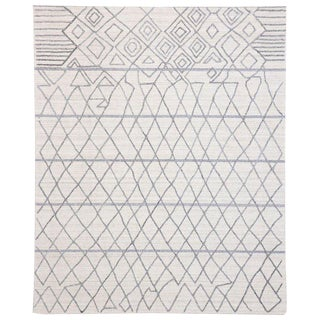 Contemporary Moroccan Style Area Rug - 8′ × 9′9″ For Sale