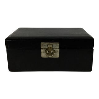 Antique Wood Chinese Treasure Chest For Sale