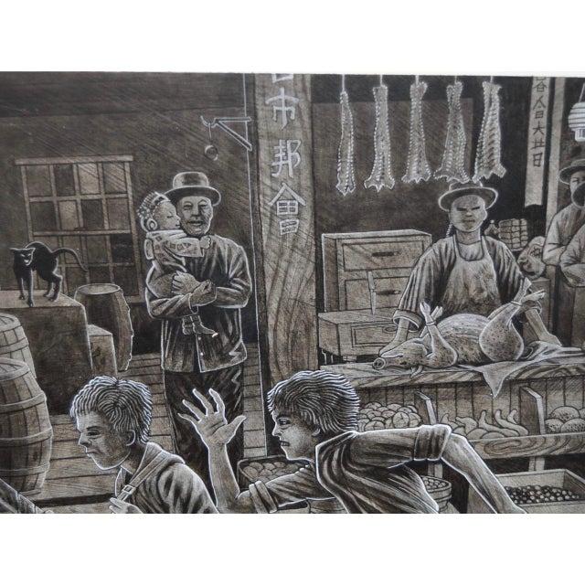 Illustration 1980 Peter Thorpe Jack London Book Illustration For Sale - Image 3 of 4