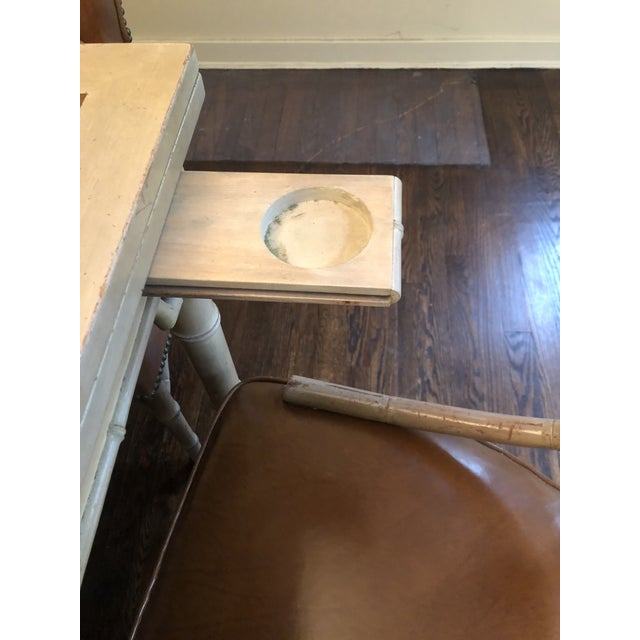 Wood Vintage Game and Card Table With Chairs For Sale - Image 7 of 13