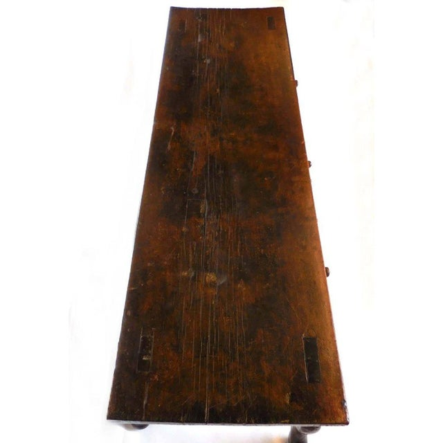 Mid 19th Century Spanish Colonial Carved Table For Sale - Image 5 of 11