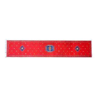 Vintage Moroccan Flatweave Rug For Sale