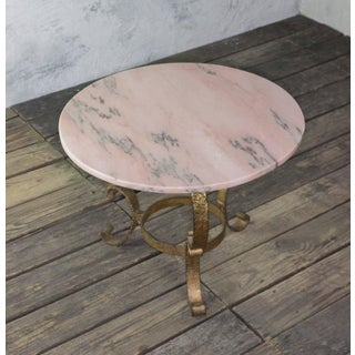 Small Round Coffee Table With Marble Top Preview